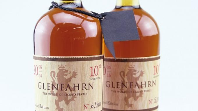 A special prize went to Switzerland's Omnipack for labels printed digitally on a wood veneer substrate, and each unique, for limited edition Glenfahrn whisky bottles