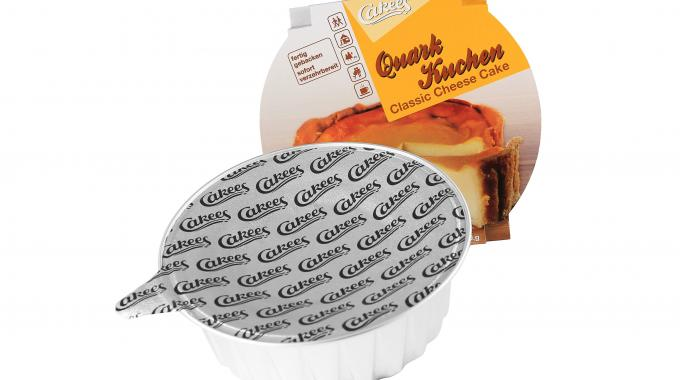Sealed aluminum container system for Cakees was another winning entry for Constantia Flexibles