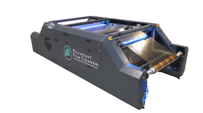 Film Cleaner is suitable for gravure printers, opening up a whole new market for Polymount
