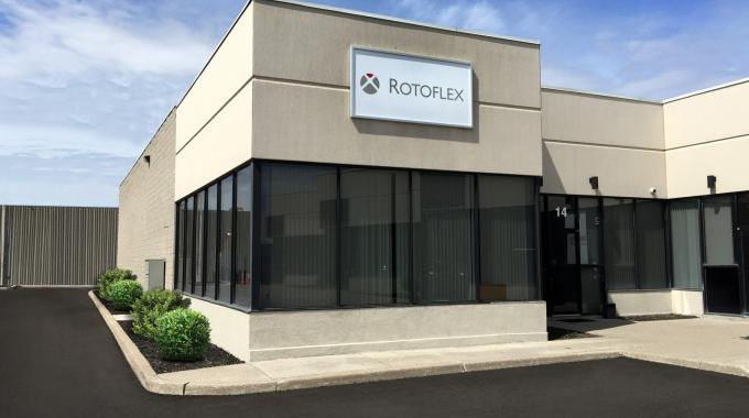 Last year, Rotoflex's Canadian regional office moved to a larger, 18,000 sq ft showroom and technology centre near Toronto