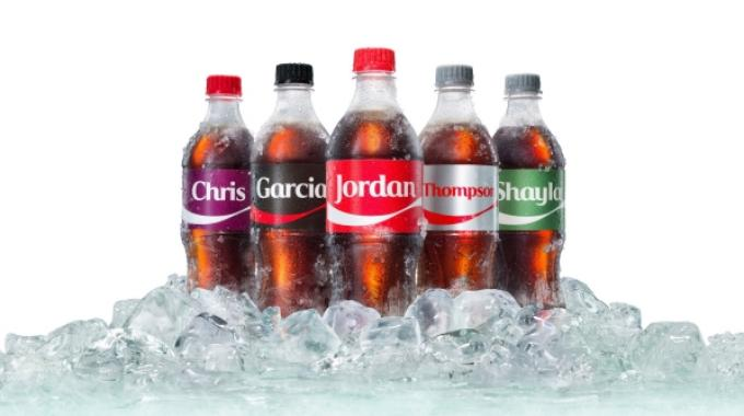 The 2017 campaign, updated to 'Share an Ice Cold Coke', will see more names and product choices available to US consumers