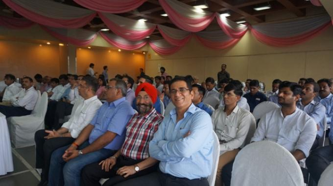 The gathering at the GST session organized by LMAI in Mumbai