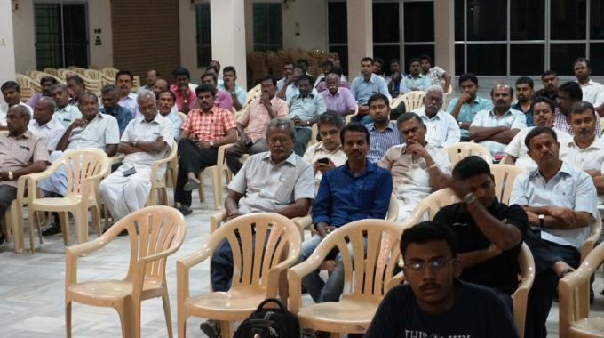 With more than 100 attendees, the roadshow in Sivakasi was a success
