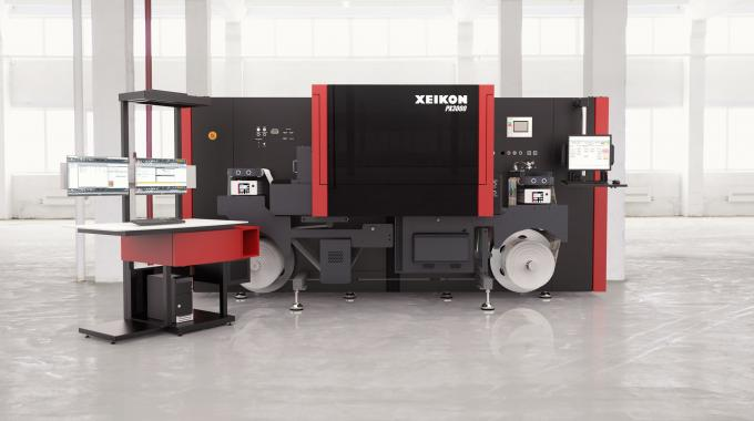 PX2000 joins PX3000 (pictured) in Xeikon's Panther series