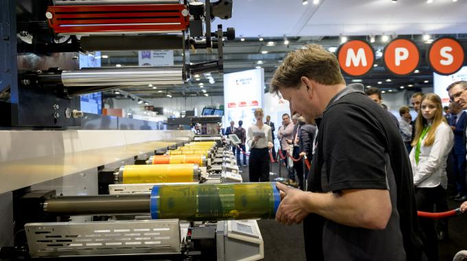 There was 25 percent more working machinery demonstrated at Labelexpo Europe 2017 than the previous edition