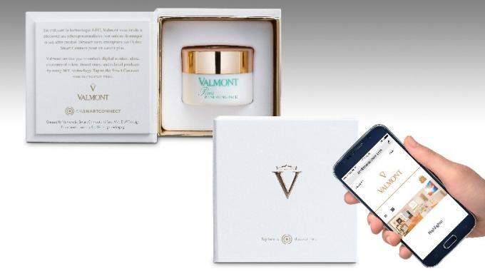 Valmont Cosmetics integrates Thinfilm NFC tags