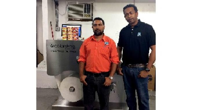 Trinidad Label Company expands with Colordyne 2600 Series Mini Press