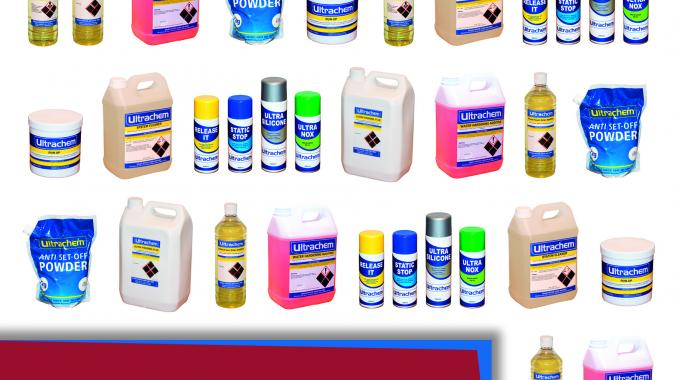 Ultrachem has reviewed and extended its entire pressroom sundries range