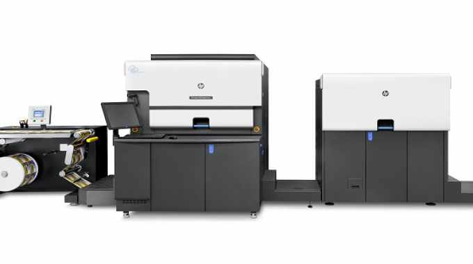 The HP Indigo 6900 digital press
