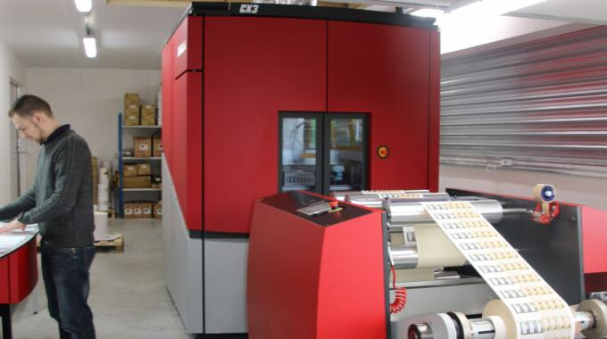 Since adding digital printing to its Montreuil-Bellay site, Anjou Etiquettes has cut its production times significantly