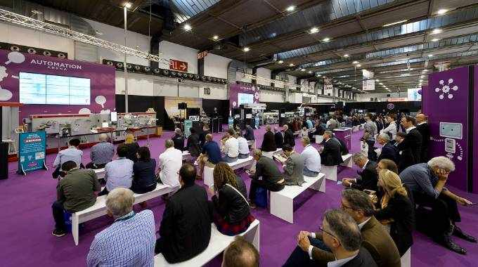 Automation Arena comes to Labelexpo Americas 2018 after debuting to packed sessions at Labelexpo Europe 2017