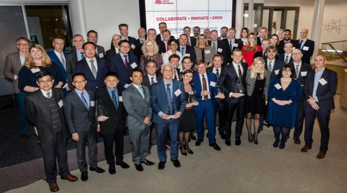This was the company's fifth annual supplier recognition ceremony, and was held on March 12-13 in Oegstgeest, the Netherlands
