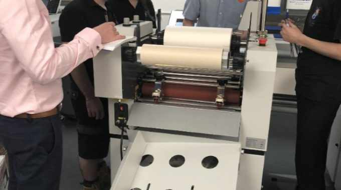 Using just one system to laminate, foil and spot UV means multiple applications are possible