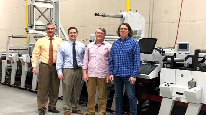 The specified 17in Mark Andy P5 presses, one of which has been installed at each of the printer's manufacturing facilities in Texas, California and Illinois, are all equipped with eight flexo stations