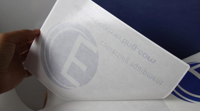 Each label shape is adhesive coated by zone with a laser engraved sleeve cylinder