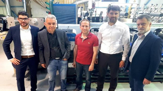 Greek label printer ETPA Packaging has installed a Gallus ECS 340 at its production site in Komotini, North Eastern Greece