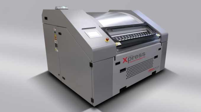 The nyloflex Xpress thermal processing system