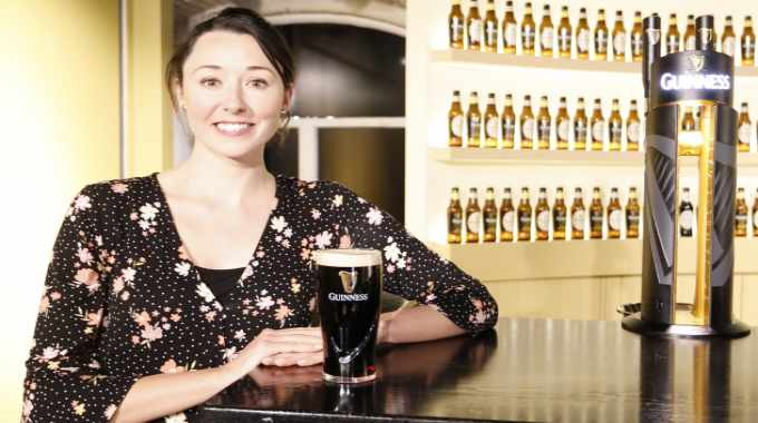 Emma Rochford is global marketing manager for Guinness