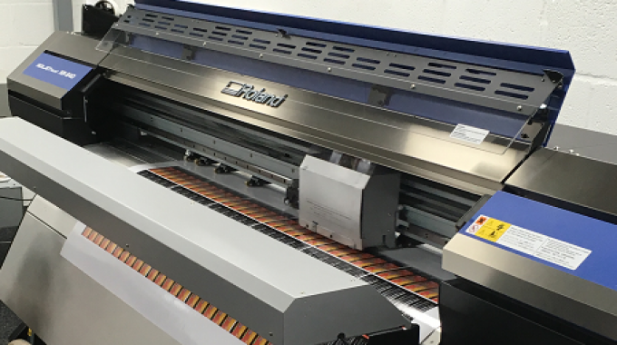Two Roland DG Soljet Pro 4 XR-640 large format printer-cutters have been integral to Handy Labels' production over the last decade