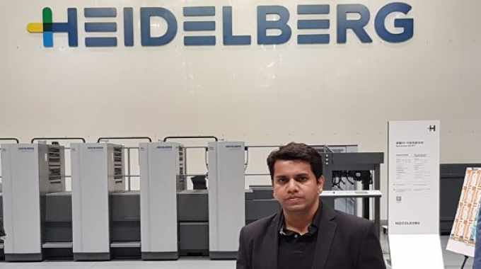 Managing director, Aditya Kashyap has opted for two Gallus Labelmaster 440 presses for his new factory