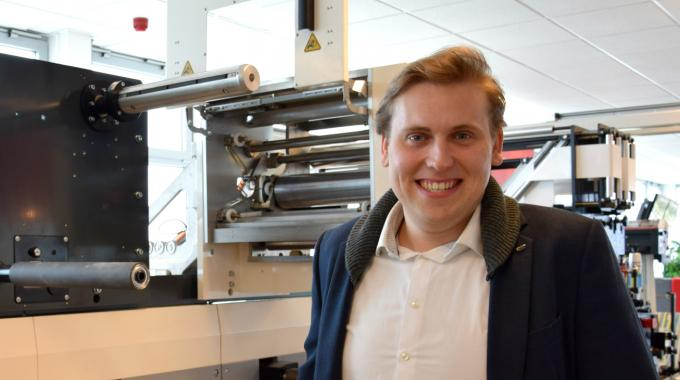 The third addition to the MPS sales team is Sebastiaan Rakhorst, who has joined as junior area sales manager