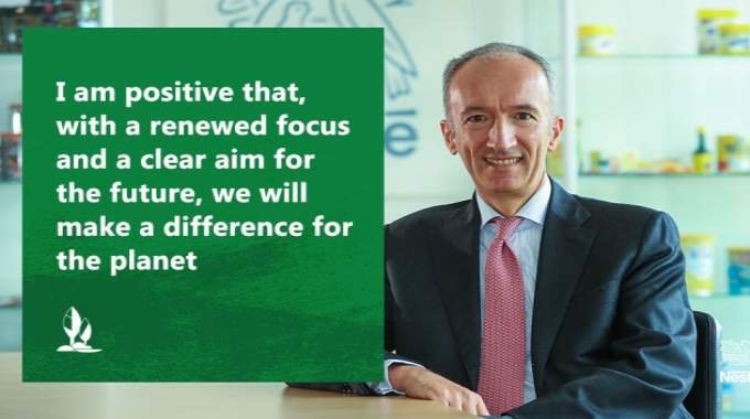 'Nestlé is making a clear announcement today on the future of its packaging' – Nestlé UK & Ireland CEO Stefano Agostini