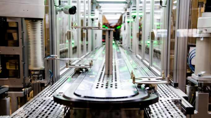 FlexLogIC is a self-contained, fully automated system delivering high throughput manufacturing of ultra-low cost, thin and flexible integrated circuits