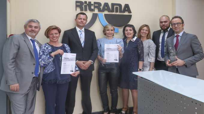 Ritrama has won Schreiner's 'Preferred Supplier' award for the third time
