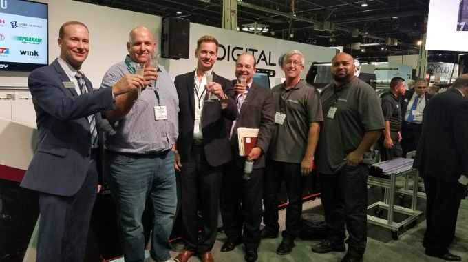 The deal was signed at Labelexpo Americas 2018