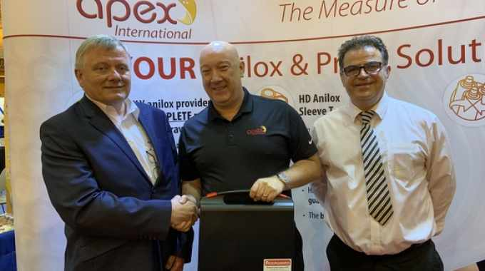 Apex North America forms strategic partnership with Agergaard Graphic Supplies