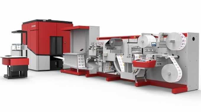 A Xeikon CX3 will be digitally printing labels in the Automation Arena at Labelexpo Americas 2018