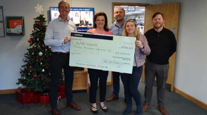 UK printer donates £13,000 to local charities in time for Christmas