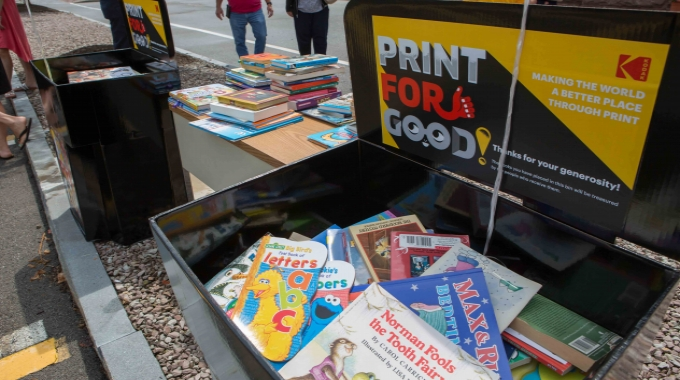 Kodak expands Global Literacy Program