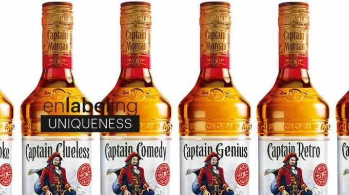 CCL Label provides Captain Morgan promotional labels