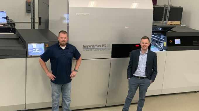 Color Ink has purchased a Komori Impremia IS29 inkjet press