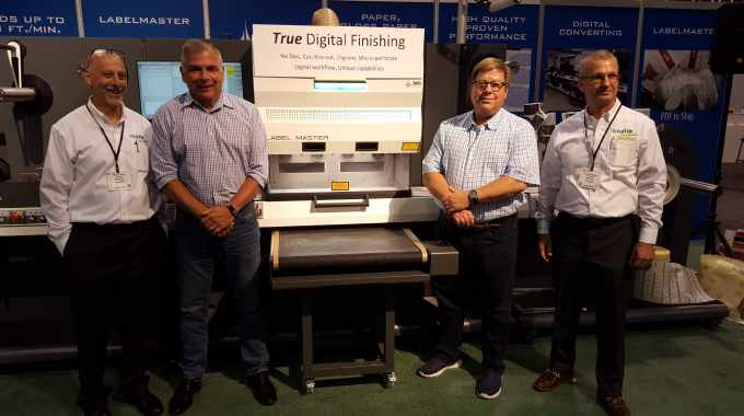 The final test was conducted during Labelexpo Americas 2018