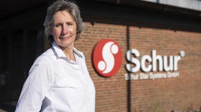 Lene Hoegh Madsen, Schur Star Systems's pre-press manager