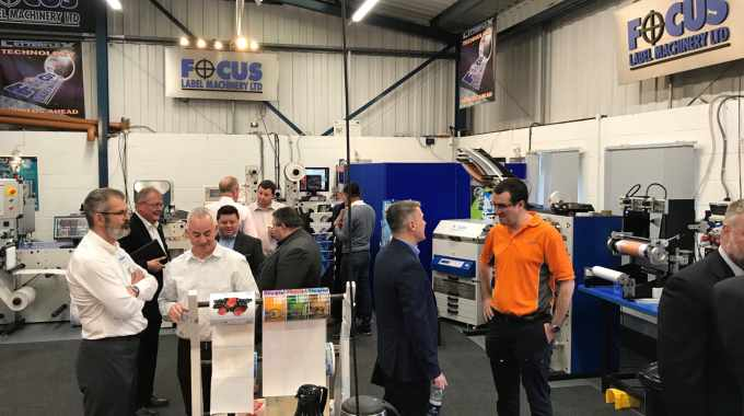 Focus Label Machinery hosts open house