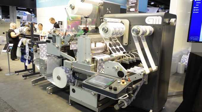 GM launched its fourth generation DC330Mini at Labelexpo Amerias 2018