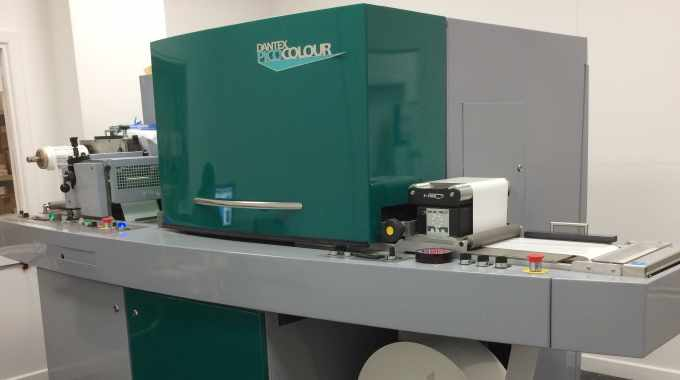 Hart Labels boosted by Dantex PicoColour