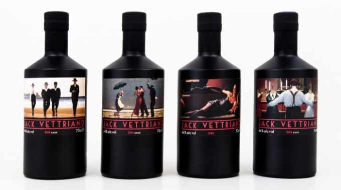 Amberley Labels partners with Jack Vettriano