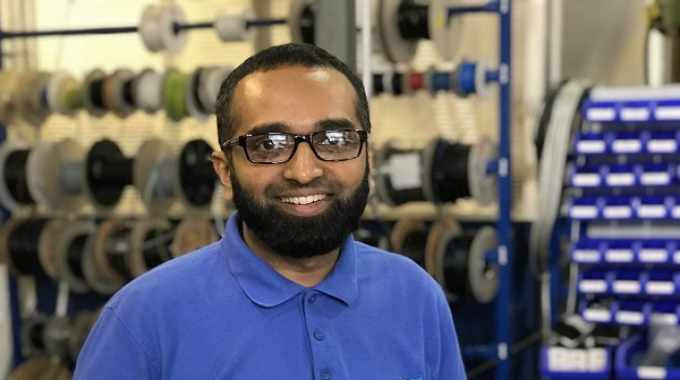 Osama Ismail is covering global territories in his role as service engineer