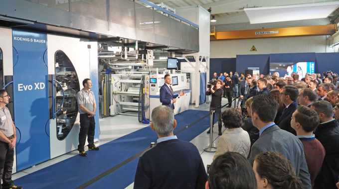 Koenig & Bauer Flexotecnica recently hosted an open house for customers at its plant in Tavazzano near Milan