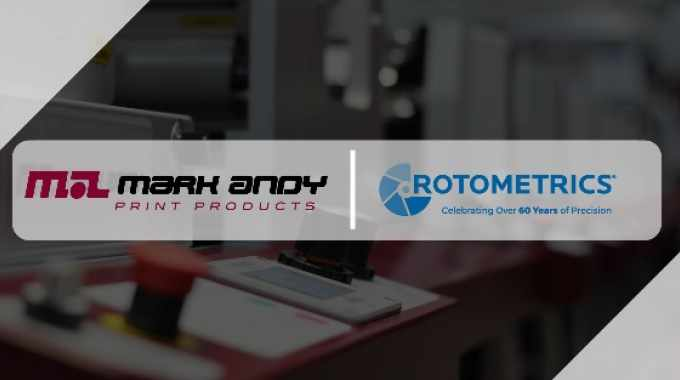 Mark Andy Print Products partners with RotoMetrics