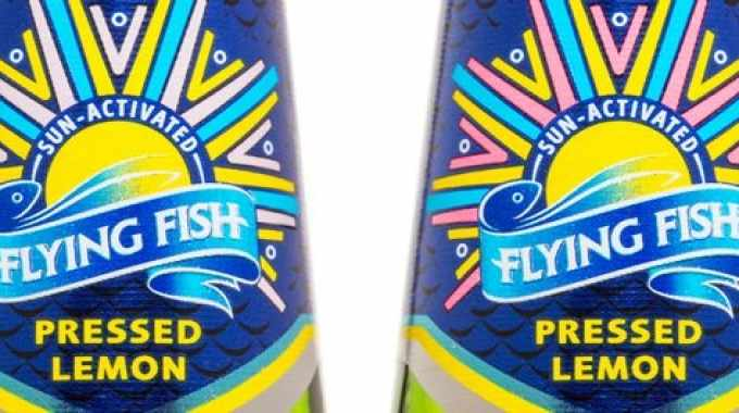 Flying Fish is a flavored beer, the first of its kind in South Africa. The brand is aimed at a youthful and trendy audience the brand appeals to those looking to try something different. Their hashtag #addsomeflavour applies not only to the brew but also to their whole brand philosophy of making life a bit more interesting. The Flying Fish brand team wanted to carry this through to their packaging and were looking for something new to enhance the existing pack. Printed at the MCC facility in Johannesburg, t