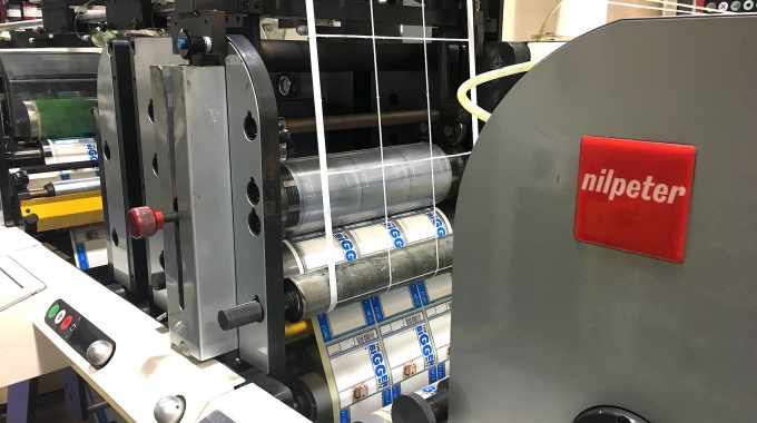 RotoRepel dies at Mission Labels have improved die-cutting performance on the company's Nilpeter presses
