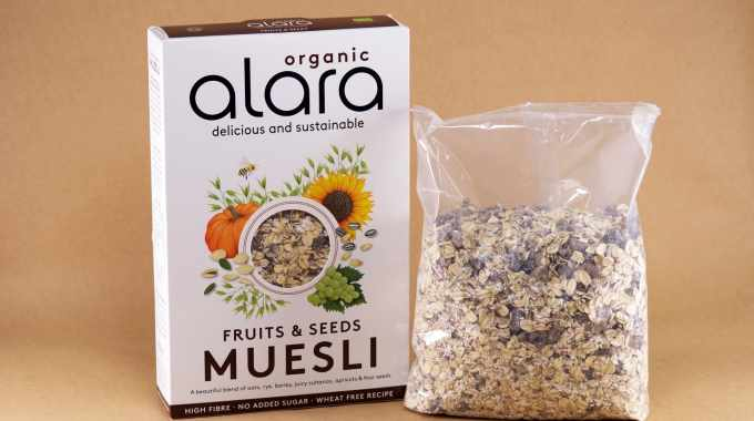 Parkside partners with Alara for compostable muesli packs