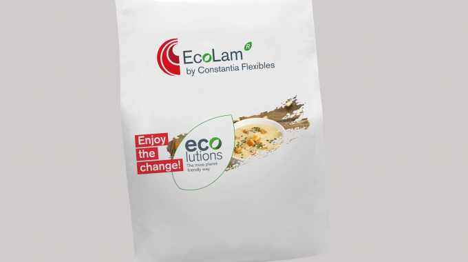 EcoLam is a lightweight, mono PE laminate that is recycle-ready due to its mono-material structure