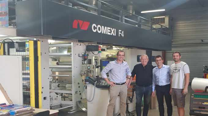 The Comexi F4 is Plastiques Landais' second Comexi press