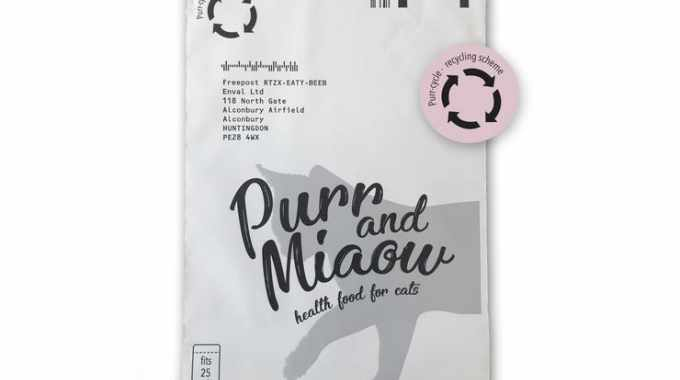 Purr & Miaow launches Purr-cycle in partnership with Enval